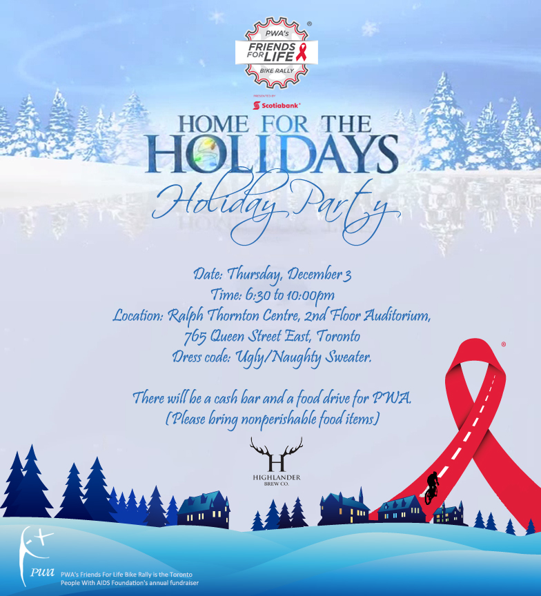 PWA'S 2015 Holiday Party Poster