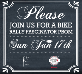 18th Bike Rally Launch Party Ad