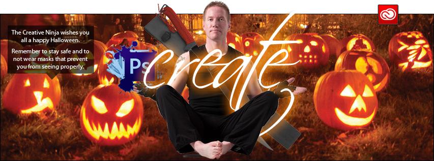 The Creative Ninja Social Media Header - Halloween
