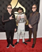 mark-hoppus-travis-barker-and-matt-skiba-of-blink-182-grammy-awards-2017