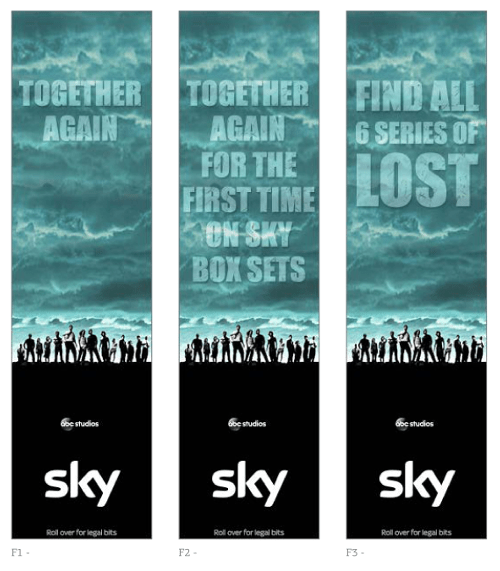 Sky Display Ad