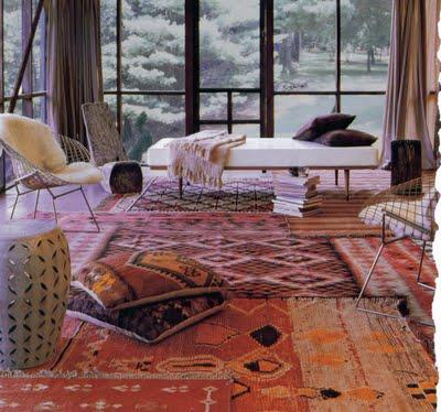 rug layering