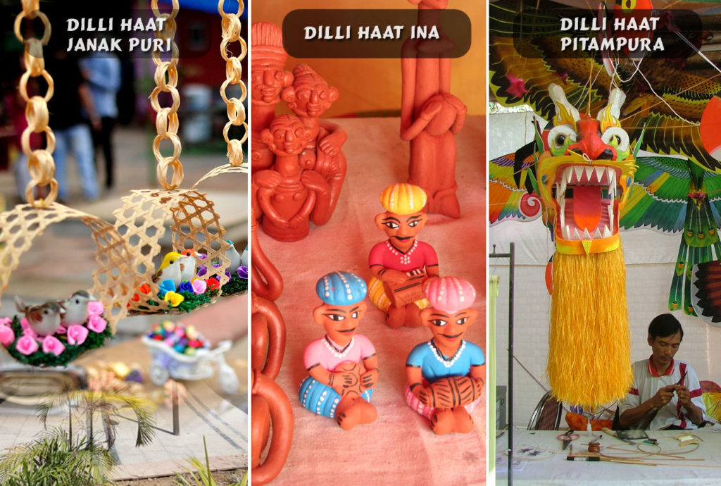 City of Empires - A travelogue on Delhi. Shopping is amazing - Dilli Haat.