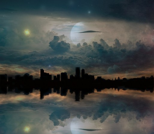 The sun and the moon signify how night and day - give way to each other. We cannot have one of them indefinitely, we need both at varying intervals.