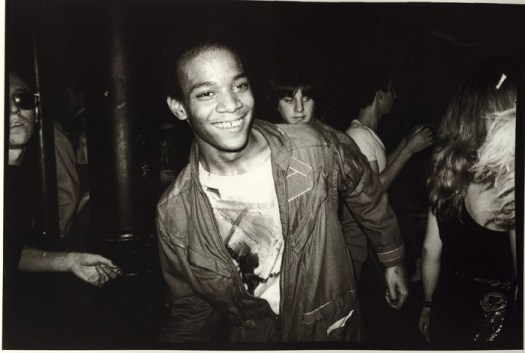 7. Jean dancing at the Mudd Club with painted t-shirt, 1979 Courtesy Nicholas Taylor.jpg