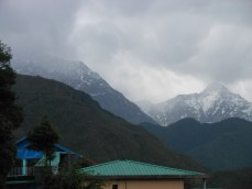 Mountains from Mcleodganj 3