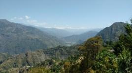 Mountian view from roadside