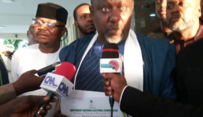Okorocha gets certifcate of return
