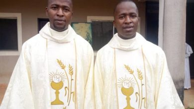 Ordained twin-brothers-Paul Mary and Peter Mary-Onele