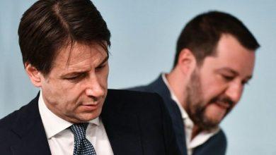 Giuseppe Conte, Matteo Salvini