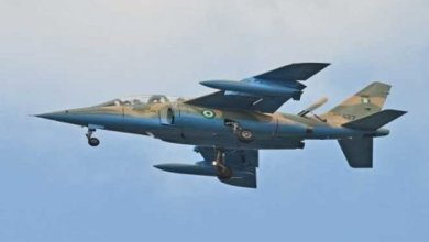 Nigerian-Air-Force Alpha Jet
