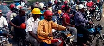 File photo of commercial motorcyclists (Photo-Channels Television0