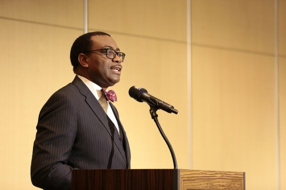 Dr. Akinwumi Adesina, Africa Development Bank President, speaks about Africa(Photo-NAN)