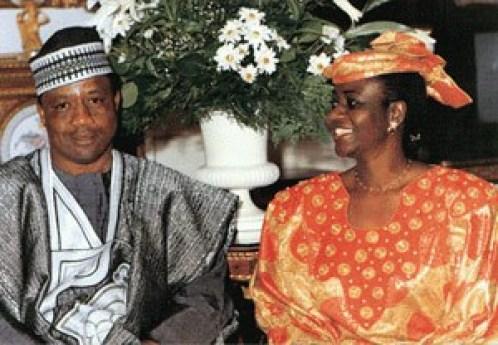 General Babangida and Dr. Mrs. Maryam Babangida