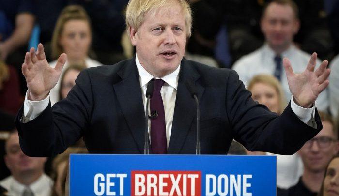 Victorious Boris Johnson (Photo-vox.com)
