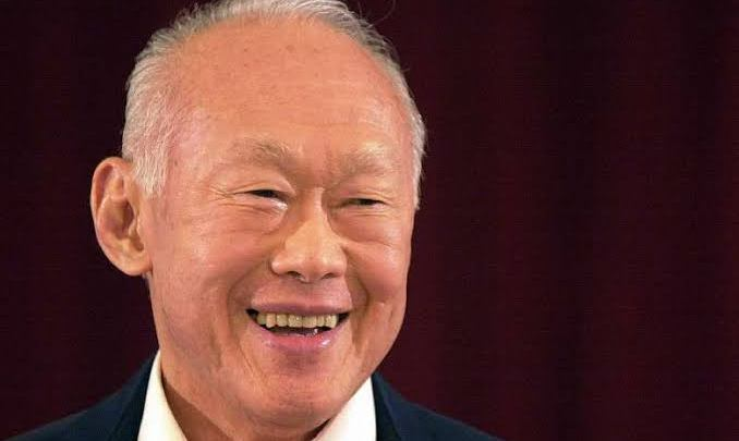 Lee Kuan Yew, Founding Prime Minister of Singapore (Photo credit-straitstimes.com)