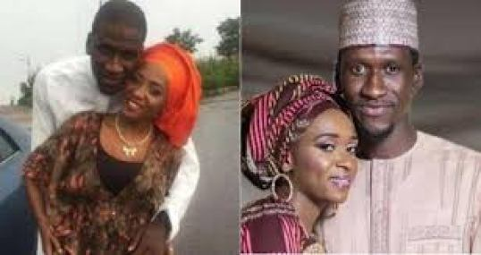 Maryam Sanda and late husband when the going was good