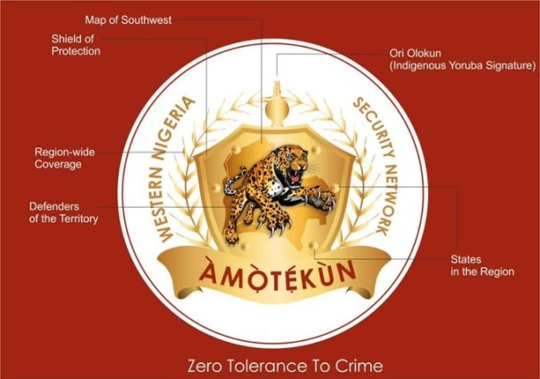 Official Logo of AMOTEKUN