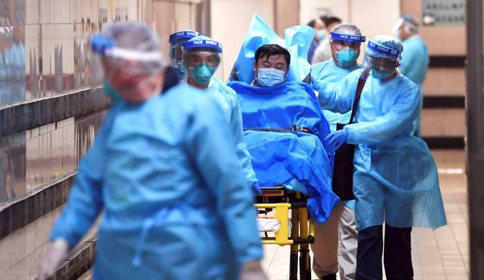 Medical workers fighting coronavirus