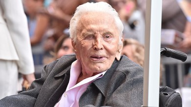 Kirk Douglas (Photo credit-Hollywood Life)