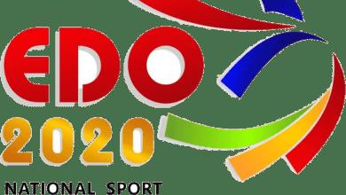 Logo of National Sports Festival, EDO-2020 (Photo credit-Loveworld Plus)