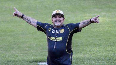 Diego Maradona Coaches Gimnasia