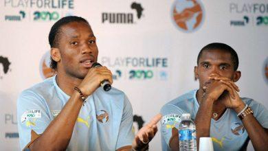 Drogba and Eto'o (Photo credit-Goal.com)