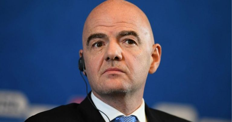 FIFA Boss, Gianni Infantino