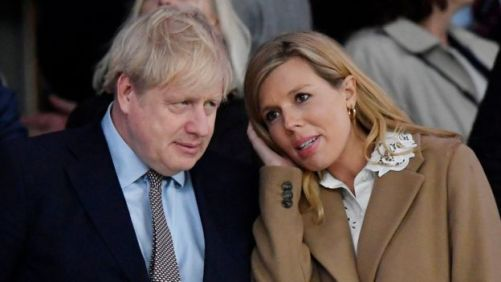 The PM's partner Carrie Symonds has been self-isolating with symptoms