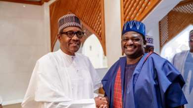 Adesina to Buhari: Glad you came our way, Mr President