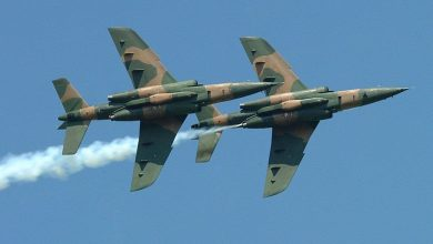 Nigeria Aifrforce Alpha jets