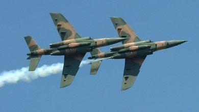 Nigeria Aifrforce Alpha jets