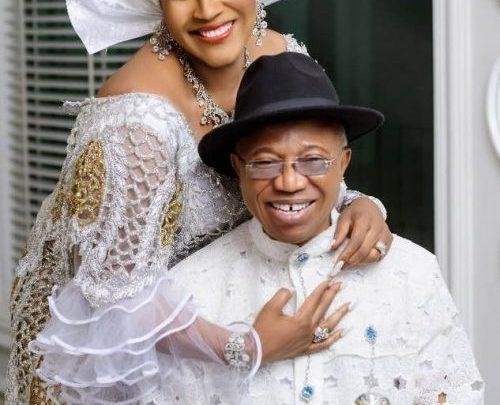 Elder Ekeoma E. Ekeoma and his wife, Barrister Ngozi Ekeoma