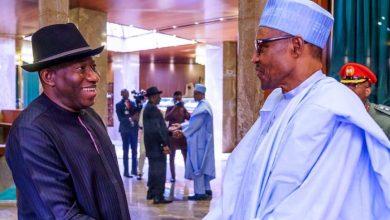 Dr. Goodluck Jonathan and President Muhammadu Buhari