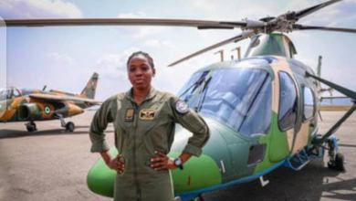 Flying Officer Tolulope Arotile, Nigeria's First Female fighter pilot