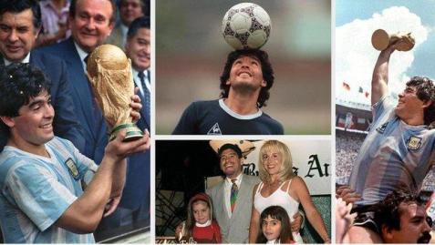 The legend of Diego Maradona in brief (Photos by BBC)