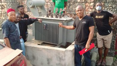The abandoned transformer and the people of Dele Orisabiyi Street