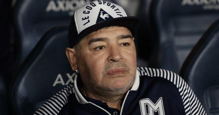 Diego Maradona (Photo credit: Skysports)