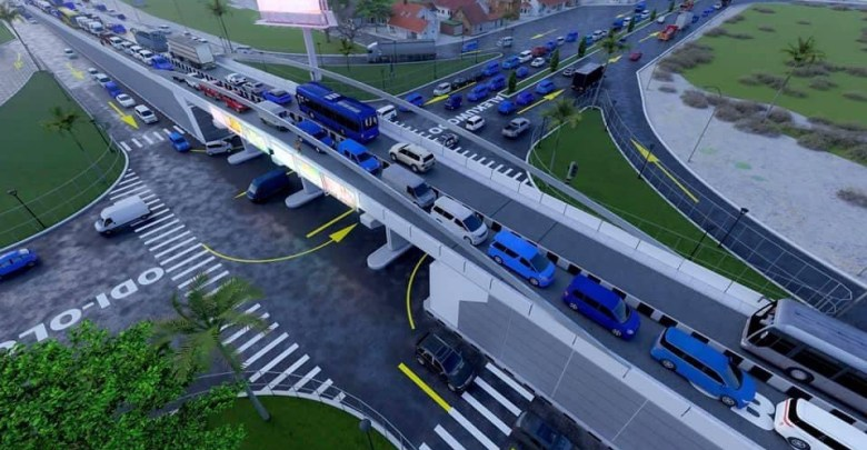 Prototype of the flyover