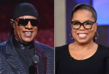 Steve Wonder and Oprah Winfrey (Photo credit: Getty)