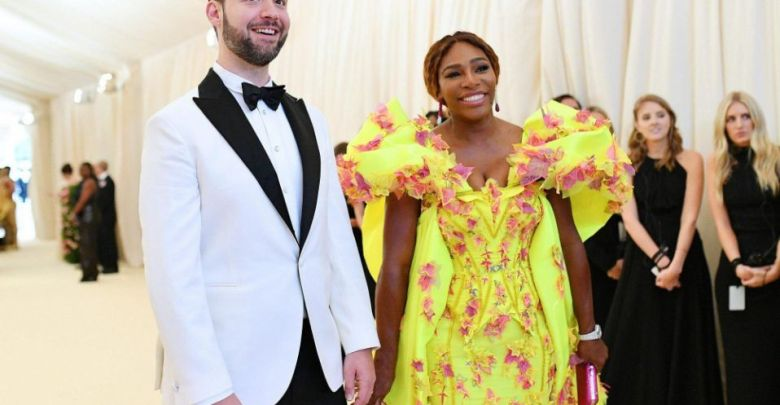 Serena and hubby, Alexis Ohanian (Photo credit: Getty Images)