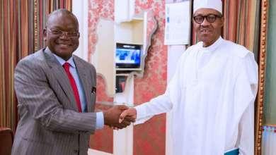 Buhari greets Ortom