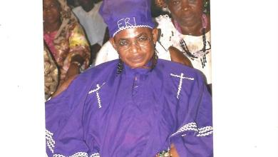 The late Fagbemi