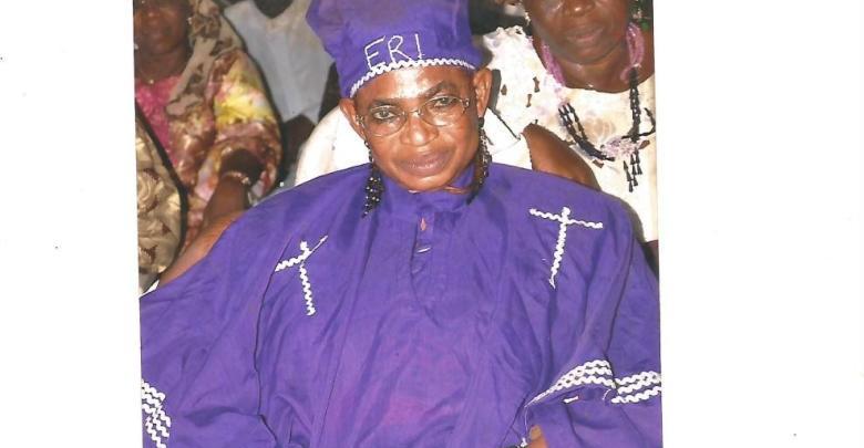 The late Fagbemi