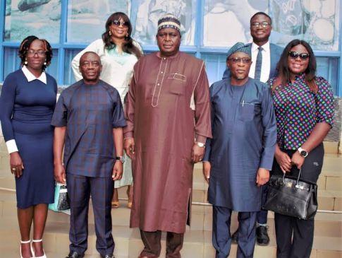 Otunba Segun Runsewe and the delegation