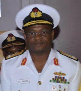 Vice-Admiral Awwal Zubairu Gambo,
