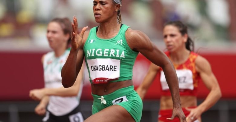 Blessing Okagbare (Photo credit-AFP)