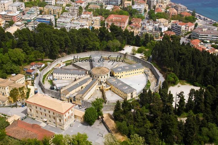 οι περίφημες φυλακές Κέρκυρας. Ένα ελληνικό πανοπτικό.