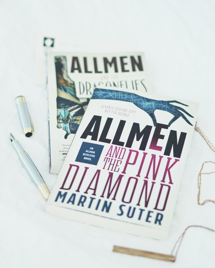 REVIEW: Allmen and the Pink Diamond (Allmen Detective #2)