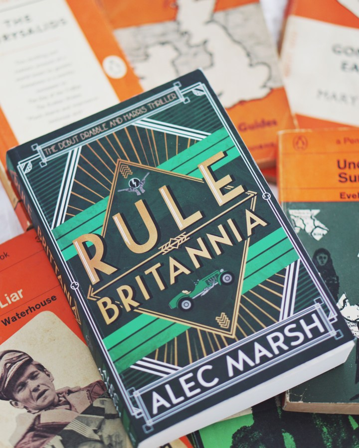 REVIEW: Rule Britannia by Alec Marsh (Drabble & Harris #1)